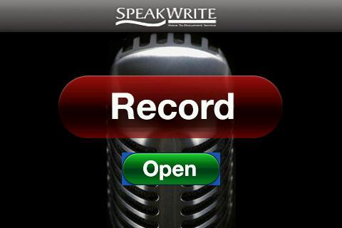 SpeakWrite free