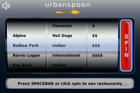 Urbanspoon free