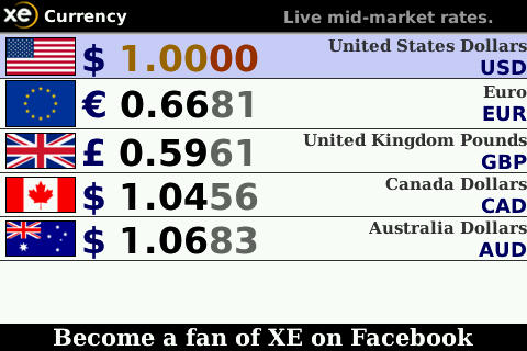 XE Currency free