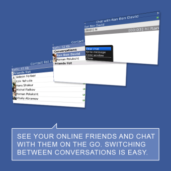 chat for facebook symbian s60