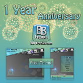 FREE BlueGreen Clean Tech theme by BB-Freaks free