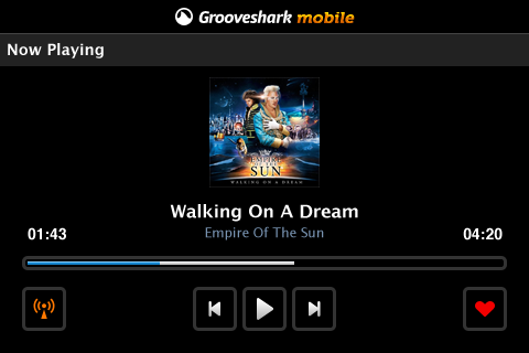 Grooveshark free