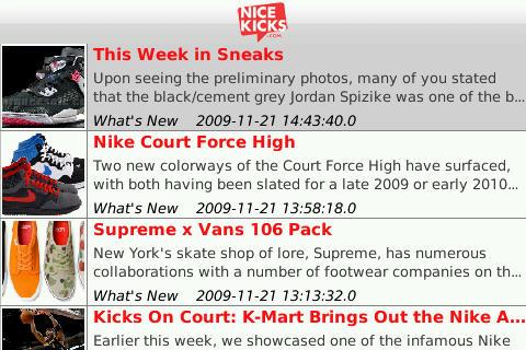 Nice Kicks free