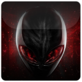 Red Alien Theme free