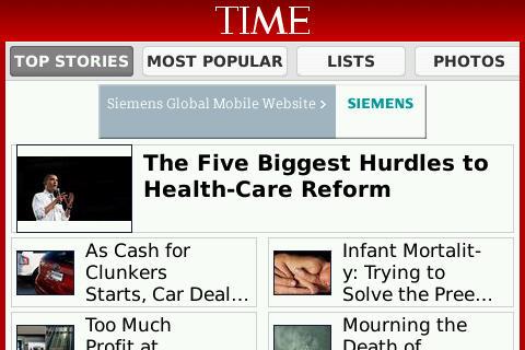 TIME Magazine app free