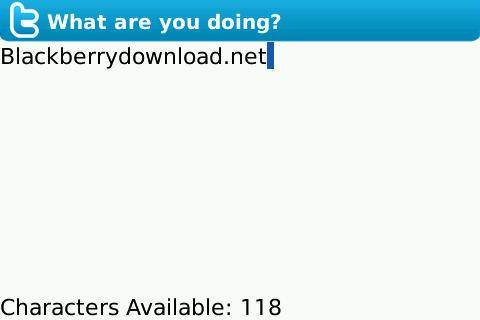 TwitterBerry free
